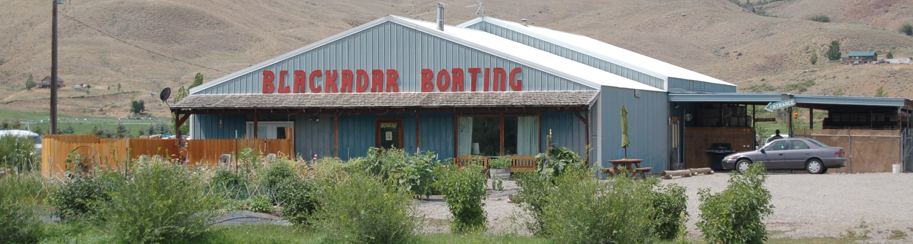 Blackadar Boating Shop on Hwy 93 North